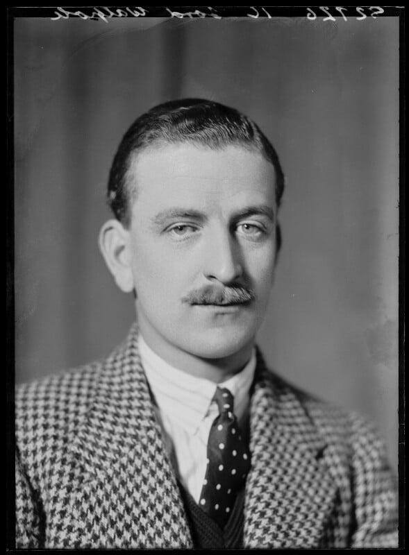 Robert Henry Montgomerie Walpole, 9th Baron Walpole, by Bassano Ltd, 19 April 1937 - NPG x156994 - © National Portrait Gallery, London