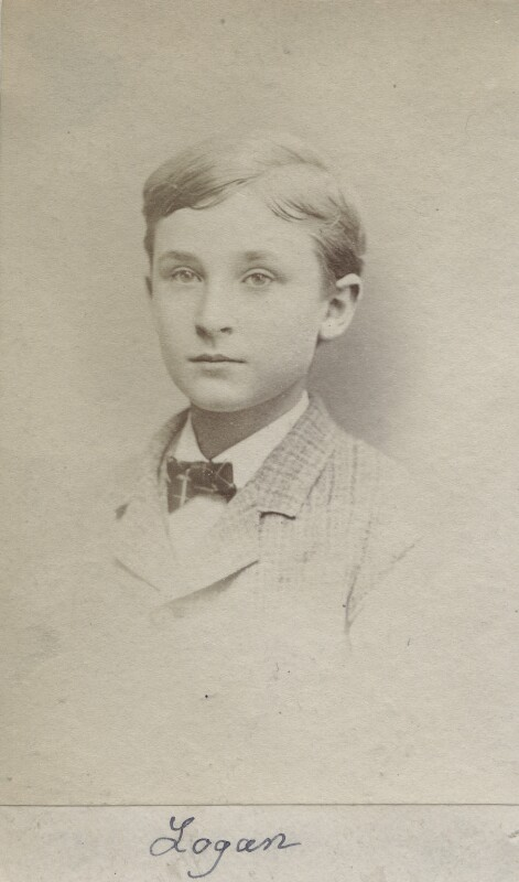 (Lloyd) Logan Pearsall Smith, by Unknown photographer, circa 1875 - NPG Ax160529 - © National Portrait Gallery, London
