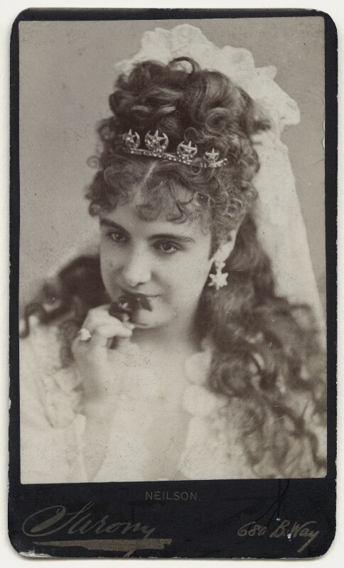 Adelaide Neilson as Juliet in 'Romeo & Juliet', by Napoleon Sarony, 1871-1880 - NPG x135652 - © National Portrait Gallery, London