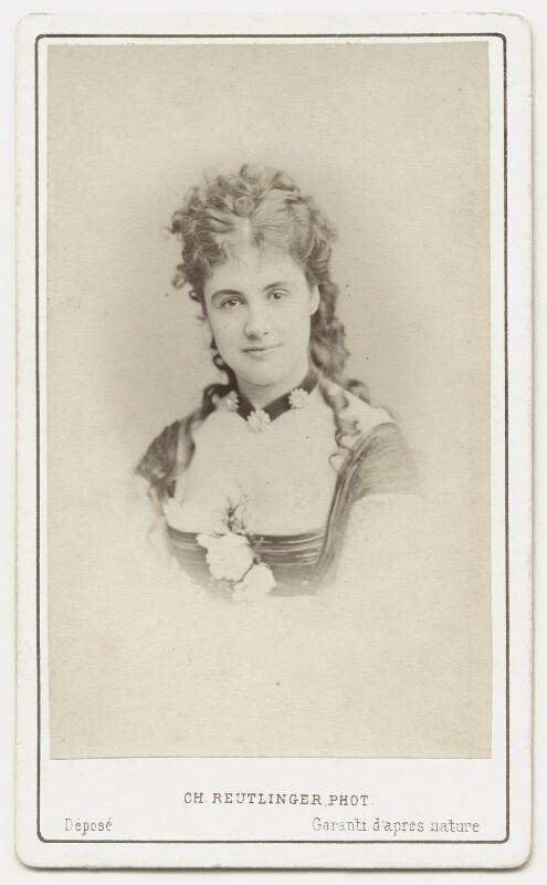 Adelaide Neilson, by Charles Reutlinger, after 1868 - NPG x135653 - © National Portrait Gallery, London