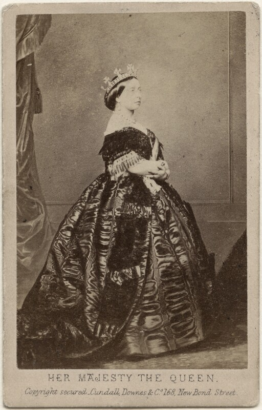 Queen Victoria, by Charles Clifford, published by  Cundall, Downes & Co, 14 November 1861 - NPG x13851 - © National Portrait Gallery, London