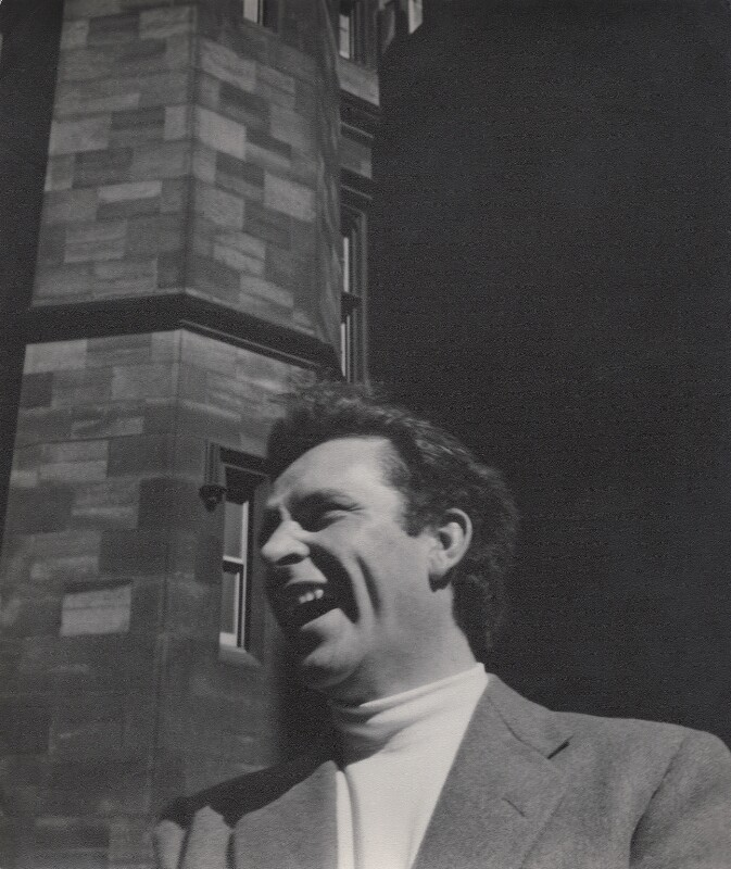 Richard Burton, by Daniel Farson, 1953 - NPG x135680 - © estate of Daniel Farson / National Portrait Gallery, London
