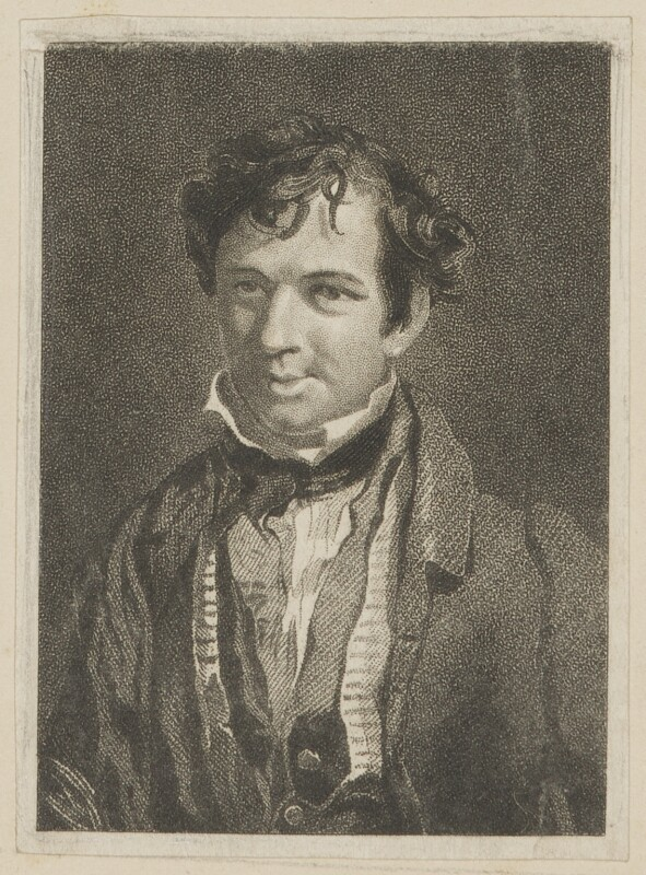 Samuel Vale as the Idle Apprentice, by John Rogers, published by  George Virtue, after  Thomas Charles Wageman, published 1827 - NPG D38637 - © National Portrait Gallery, London