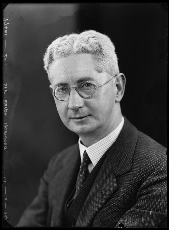 Sir Ralph Endersby Harwood, by Bassano Ltd, 4 January 1934 - NPG x104638 - © National Portrait Gallery, London