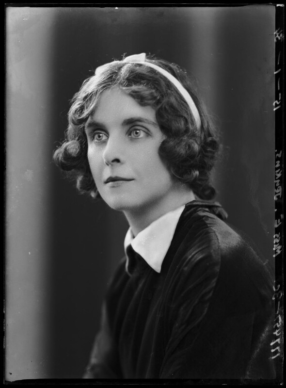 (Margaret) Elizabeth Jenkins, by Bassano Ltd, 15 January 1934 - NPG x104666 - © National Portrait Gallery, London