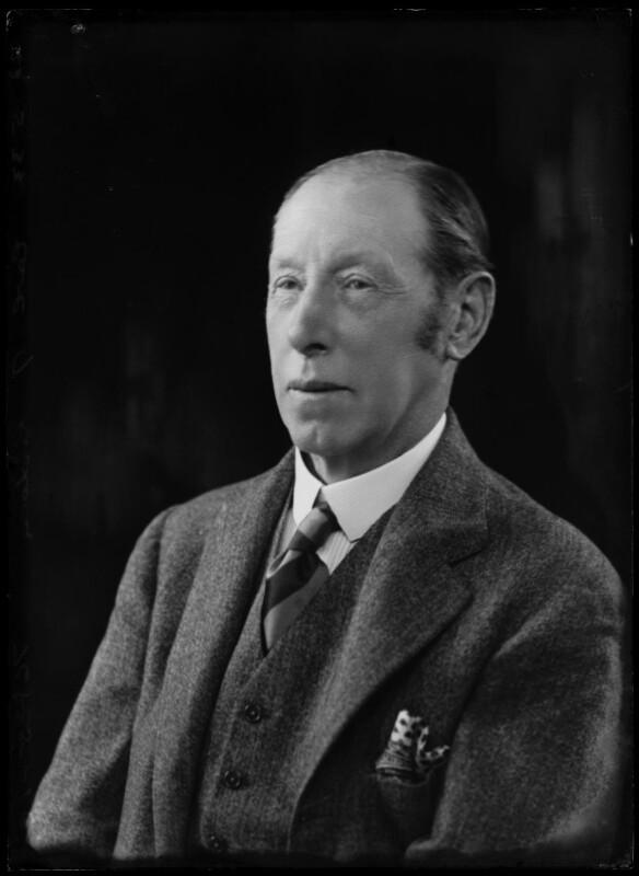 Reginald Lindesay-Bethune, 12th Earl of Lindsay, by Bassano Ltd, 23 May 1933 - NPG x157357 - © National Portrait Gallery, London