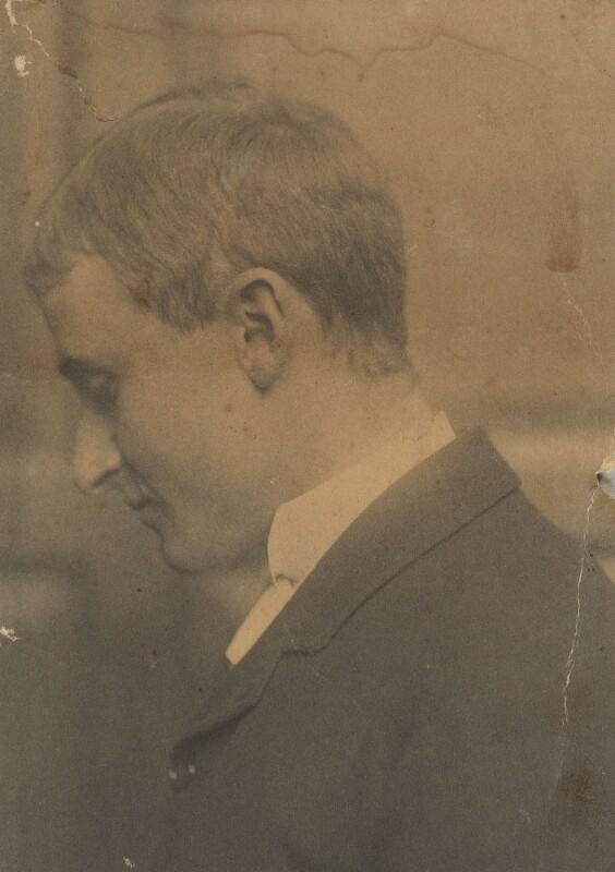 (Lloyd) Logan Pearsall Smith, by Unknown photographer, circa 1884 - NPG Ax160598 - © National Portrait Gallery, London