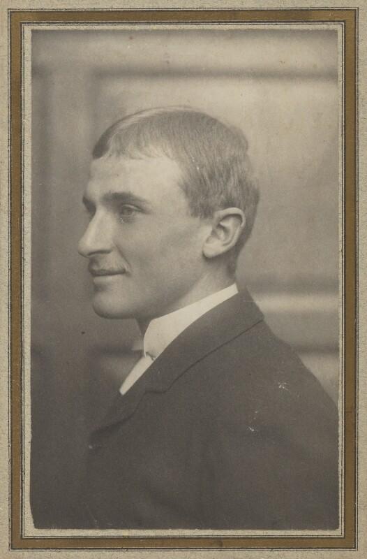 (Lloyd) Logan Pearsall Smith, by Frederick Hollyer, 1886 - NPG Ax160599 - © National Portrait Gallery, London