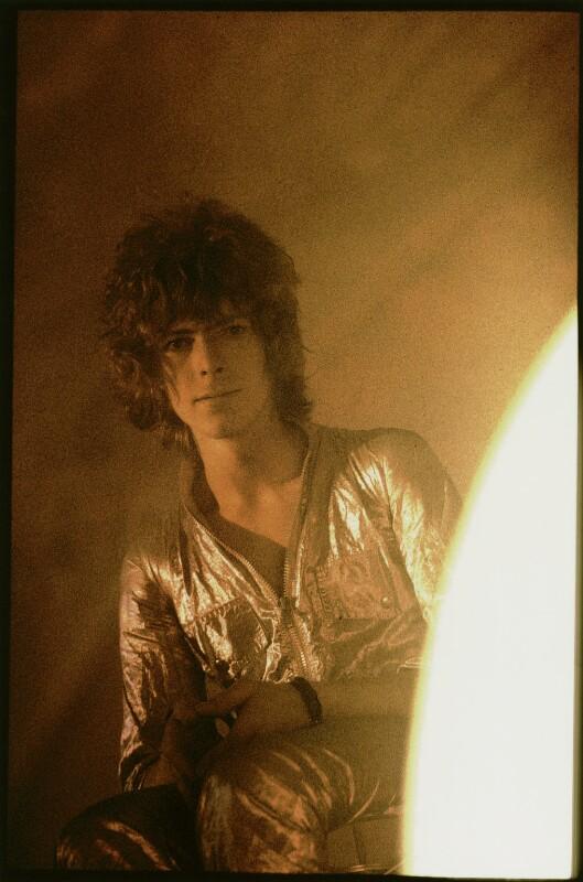 David Bowie, by David Bebbington, 1969 - NPG x135753 - © David H. Bebbington
