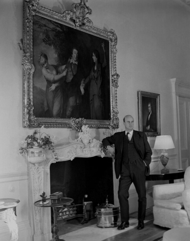 Noel Gilroy Annan, Baron Annan, by Antony Barrington Brown, 11 January 1957 - NPG x104725 - © Gonville & Caius College, Cambridge