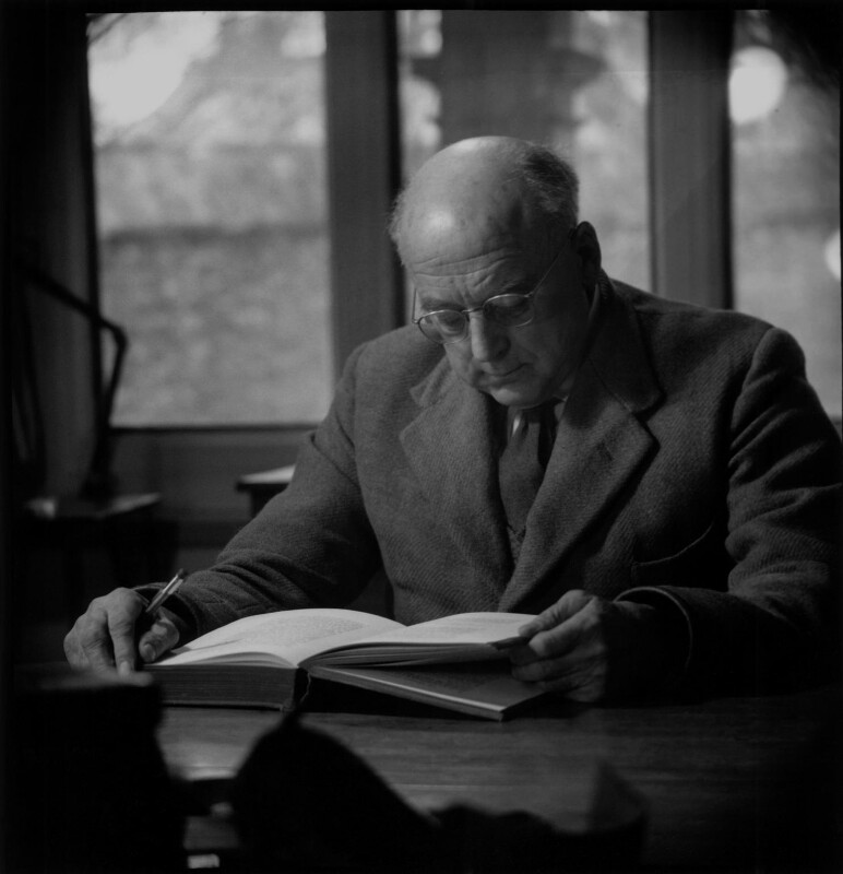 Sir (Bennett) Melvill Jones, by Antony Barrington Brown, 13 March 1958 - NPG x104784 - © Gonville & Caius College, Cambridge