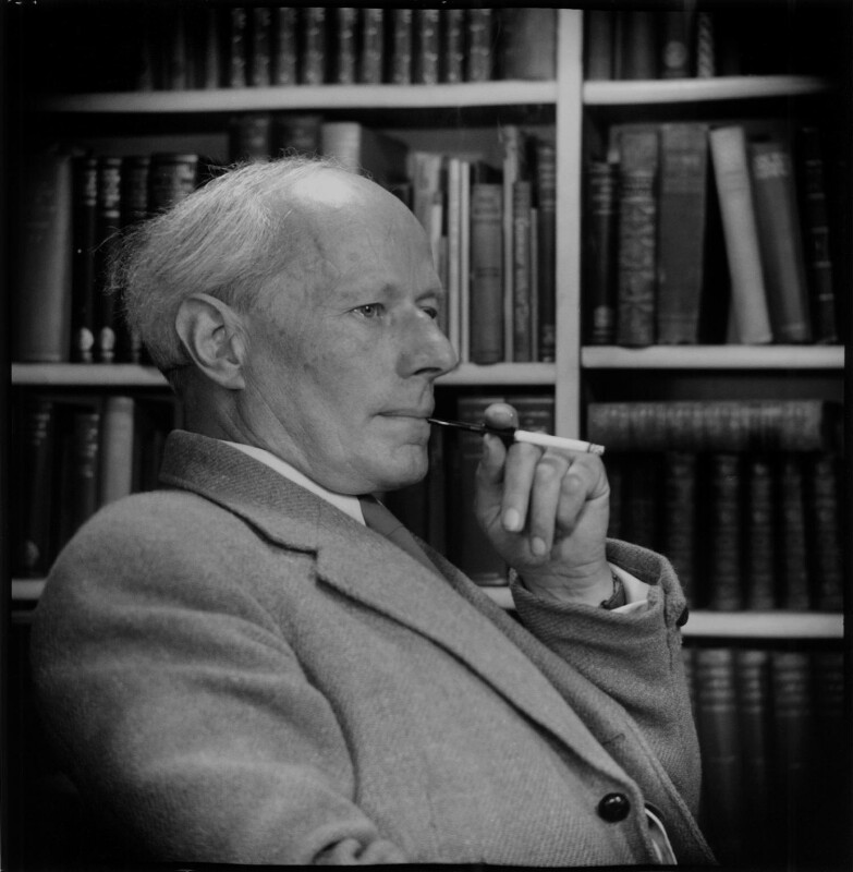 Frank Laurence ('F.L.') Lucas, by Antony Barrington Brown, 7 July 1957 - NPG x104793 - © Gonville & Caius College, Cambridge