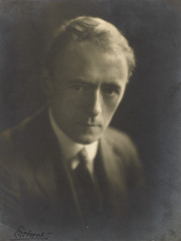 Sir Arnold Bax, by E.O. Hoppé, 6 October 1921 - NPG P1693 - © 2019 E.O. Hoppé Estate Collection / Curatorial Assistance Inc.