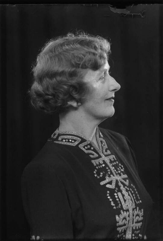 Lady Anderson, by Bassano Ltd, 19 May 1942 - NPG x104809 - © National Portrait Gallery, London