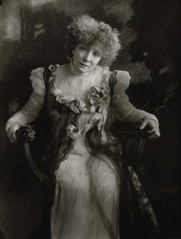 Sarah Bernhardt, by H. Walter Barnett, 1910 - NPG x135808 - © National Portrait Gallery, London