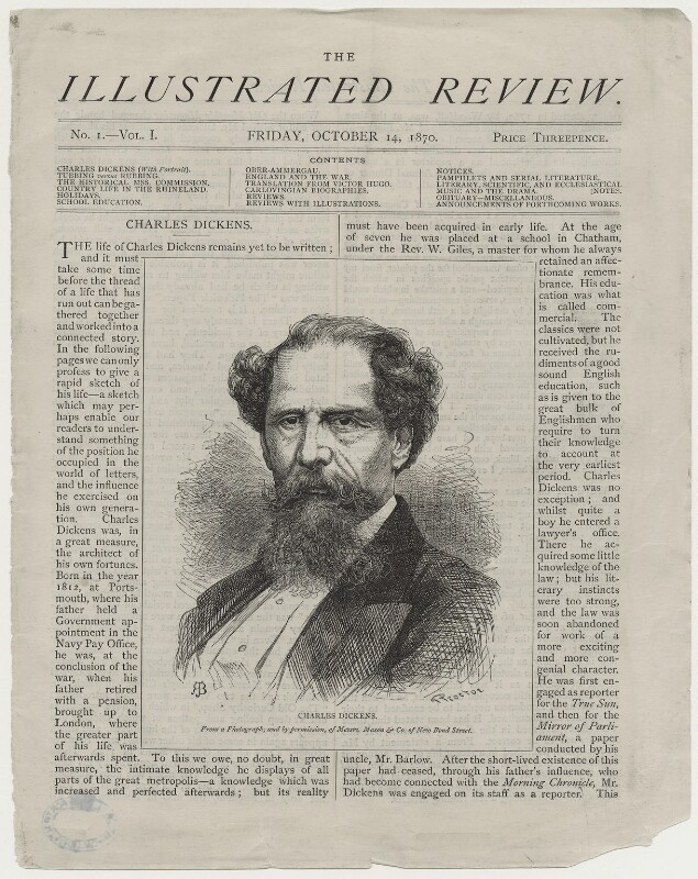 the influence of the life of charles dickens on his writing When charles dickens died at the age of 58, a the life and adventures of nicholas nickleby, a christmas carol, david copperfield, bleak house, and little dorrit.