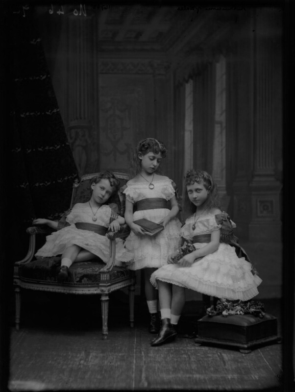 Royal Family group, by Alexander Bassano, 1875 - NPG x104920 - © National Portrait Gallery, London