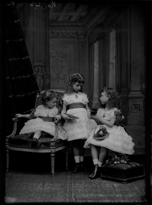 Royal Family group, by Alexander Bassano, 1875 - NPG x104921 - © National Portrait Gallery, London