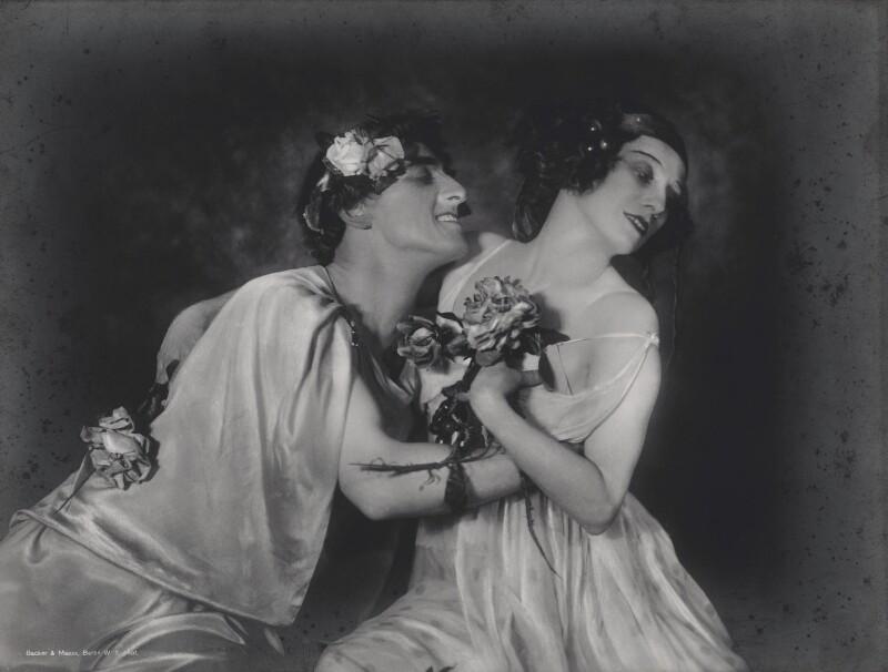 Laurent Novikoff and Anna Pavlova in 'Autumn Bacchanal', by Becker & Maass, circa 1920 - NPG x135877 - © National Portrait Gallery, London