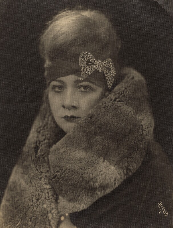Sophie Tucker, by Butler Photo Studio, early 1910s - NPG x135882 - © National Portrait Gallery, London