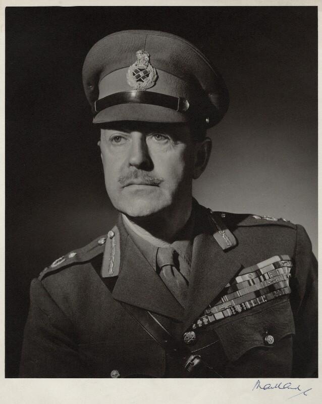 Harold Rupert Leofric George Alexander, 1st Earl Alexander of Tunis, by Frederick Maillard, 1946 - NPG x135978 - © reserved; collection National Portrait Gallery, London
