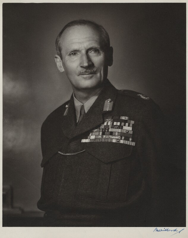 Bernard Law Montgomery, 1st Viscount Montgomery of Alamein, by Frederick Maillard, 1946 - NPG x135979 - © reserved; collection National Portrait Gallery, London