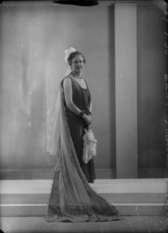 Grace Catherine (née Trotter), Lady Thurlow, by Bassano Ltd, 27 May 1930 - NPG x157820 - © National Portrait Gallery, London