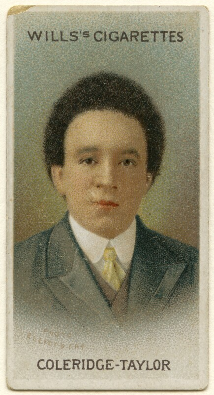 Samuel Coleridge-Taylor, after Elliott & Fry, published 1914 - NPG x135999 - © National Portrait Gallery, London