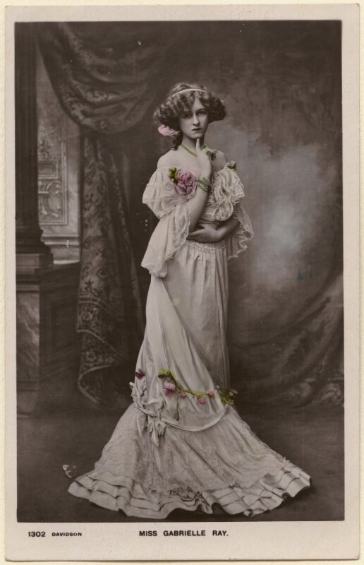 Gabrielle Ray, published by Davidson Brothers, circa 1905 - NPG x22002 - © National Portrait Gallery, London