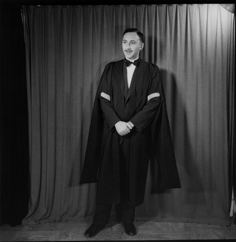 Victor Israelyan, by Antony Barrington Brown, 4 March 1958 - NPG x105207 - © Gonville & Caius College, Cambridge