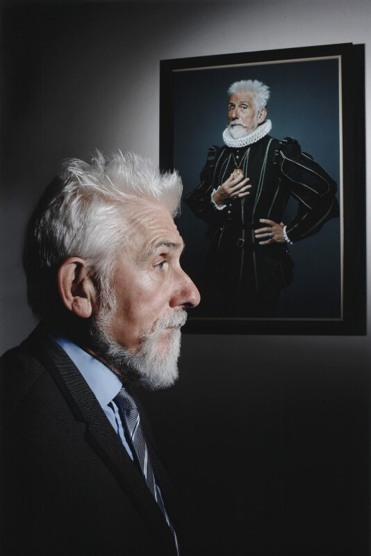 Sir Roy Strong, by John Swannell, 2012 - NPG x135904 - © John Swannell / Camera Press
