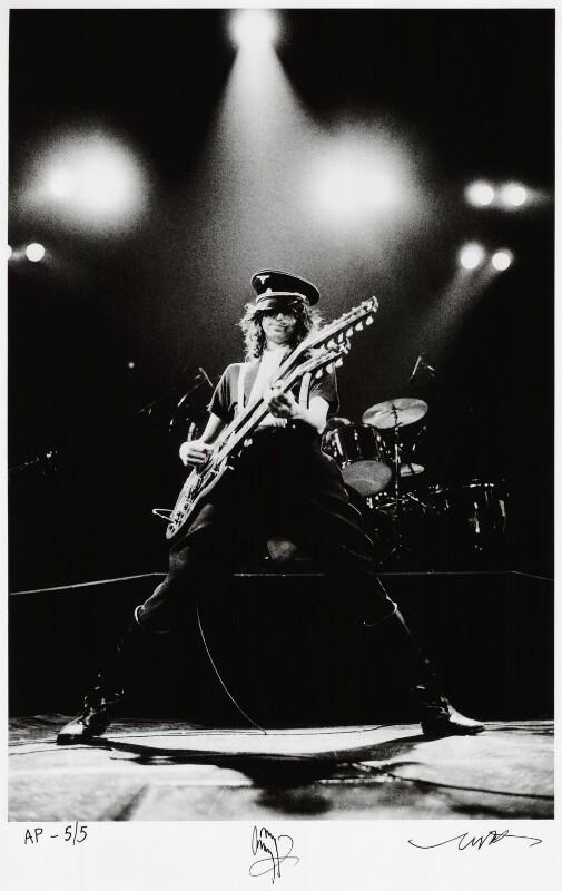 Jimmy Page, by Neal Preston, April 1977 - NPG x135918 - © Neal Preston