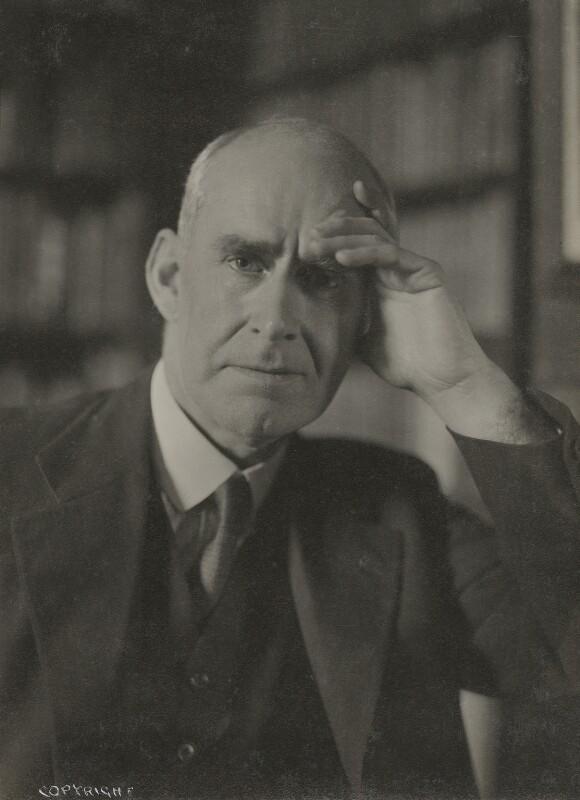 Sir Arthur Eddington, by Howard Coster, 1936 - NPG Ax136080 - © National Portrait Gallery, London