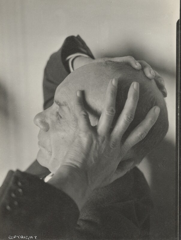 Henry Major Tomlinson, by Howard Coster, 1930s - NPG Ax136084 - © National Portrait Gallery, London