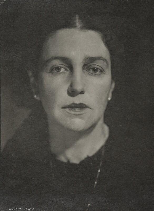 NPG x10443; Mary Borden, Lady Spears - Portrait - National