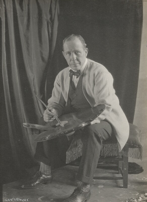 William Orpen, by Howard Coster, 1927 - NPG Ax136102 - © National Portrait Gallery, London