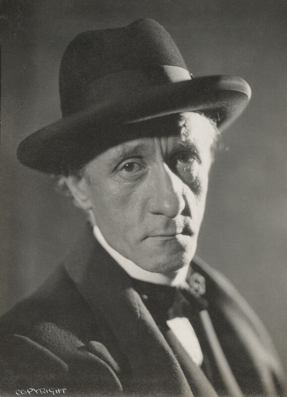 Hannen Swaffer, by Howard Coster, 1930 - NPG Ax136111 - © National Portrait Gallery, London