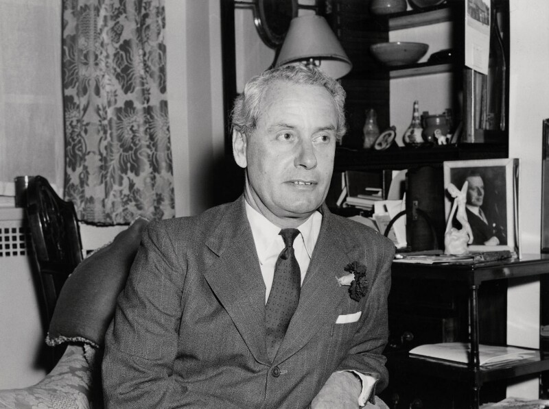 Malcolm John MacDonald, by Unknown photographer, July 1955 - NPG x136148 - © National Portrait Gallery, London