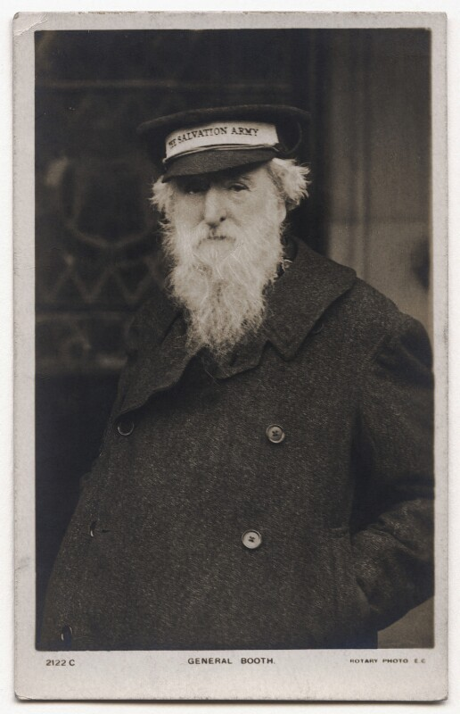 William Booth, published by Rotary Photographic Co Ltd, 1900s - NPG x136246 - © National Portrait Gallery, London