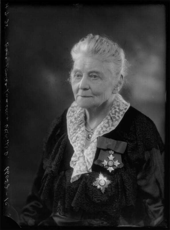 Dame Louisa Innes Lumsden, by Bassano Ltd, 4 July 1925 - NPG x105373 - © National Portrait Gallery, London