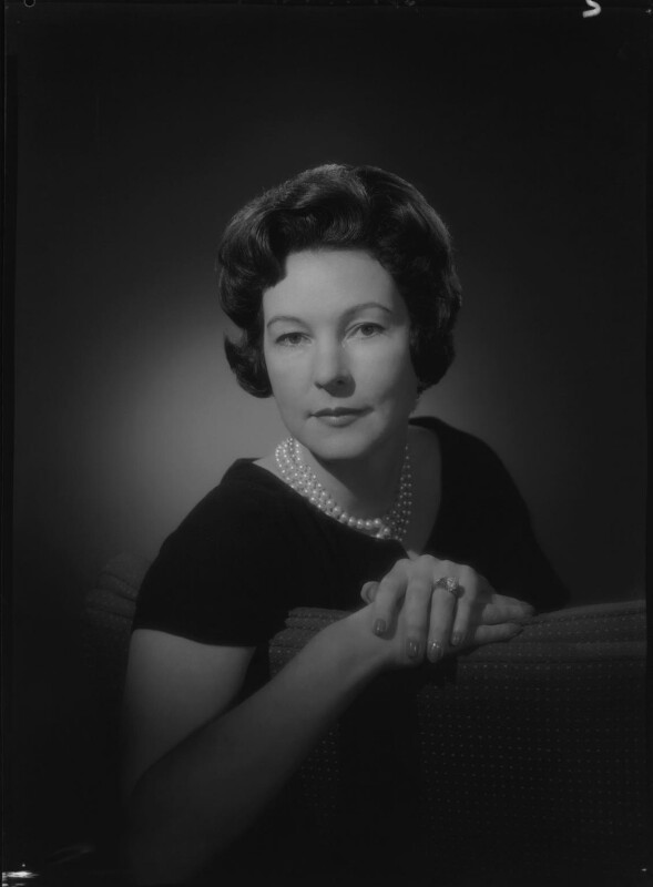 Jean (née Garland), Lady Ashcombe, by Rex Coleman, for  Baron Studios, 21 March 1961 - NPG x105402 - © National Portrait Gallery, London