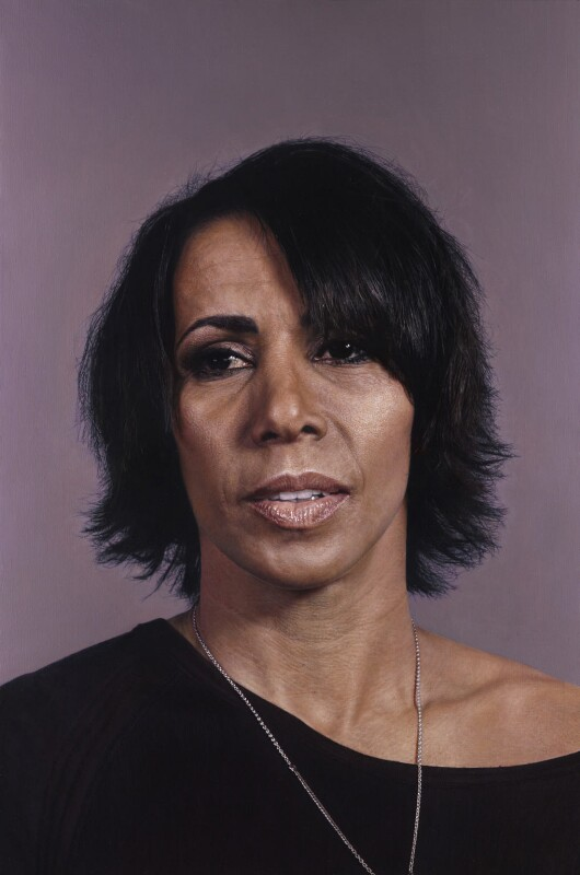 Kelly Holmes, by Craig Wylie, 2012 - NPG 6944 - © National Portrait Gallery, London