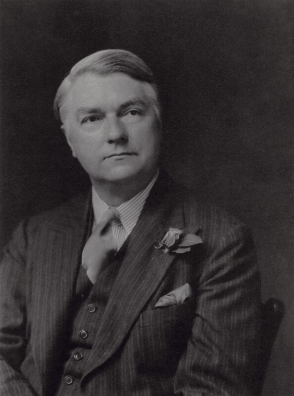 John Drinkwater, by Walter Stoneman, 1931 - NPG x167259 - © National Portrait Gallery, London