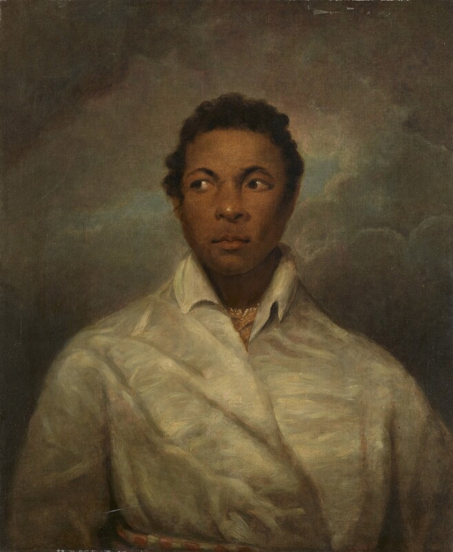 Ira Frederick Aldridge, after James Northcote, circa 1826 - NPG L251 - Private Collection; on loan to the National Portrait Gallery, London