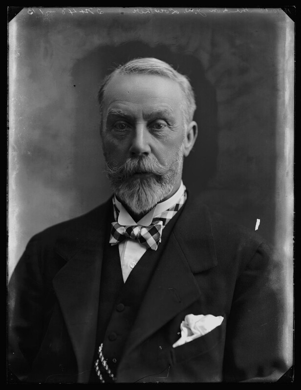 James William Lowther, 1st Viscount Ullswater, by Bassano Ltd, 16 October 1918 - NPG x158068 - © National Portrait Gallery, London