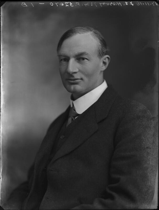 Thomas Edmund Harvey, by Bassano Ltd, 17 November 1918 - NPG x158144 - © National Portrait Gallery, London