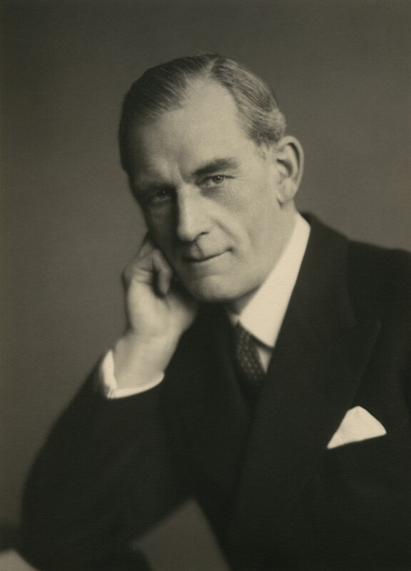 Thomas Dunlop Galbraith, 1st Baron Strathclyde, by Walter Stoneman, March 1945 - NPG x167315 - © National Portrait Gallery, London