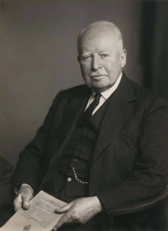 George Rowland Blades, 1st Baron Ebbisham, by Walter Stoneman, 15 March 1948 - NPG x167338 - © National Portrait Gallery, London
