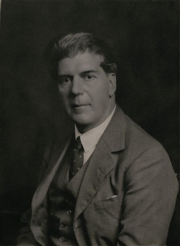 Thomas Lydwell Eckersley, by Walter Stoneman, April 1938 - NPG x167341 - © National Portrait Gallery, London