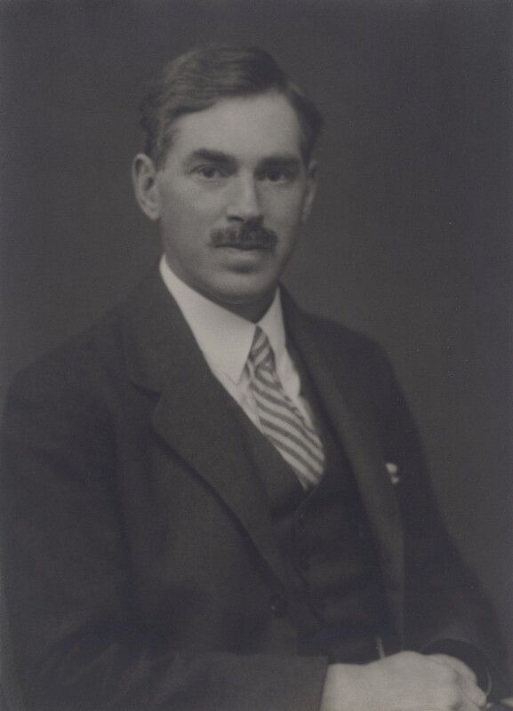Sir Alfred Charles Glyn Egerton, by Walter Stoneman, 1932 - NPG x167360 - © National Portrait Gallery, London